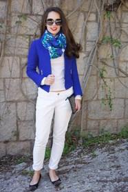 azul electrico para la primavera klein