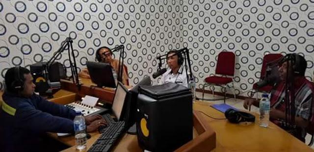 BNN Sosialisasi Bahaya Narkoba di Radio Publik Mimika