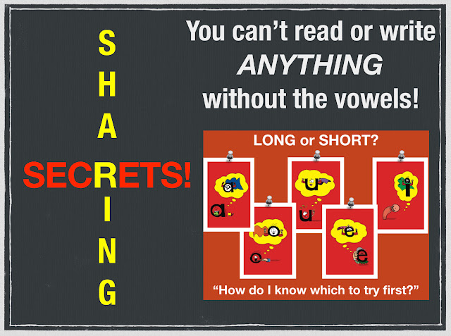 Secret Stories Superhero Vowels® and their Short & Lazy Sound Disguises!