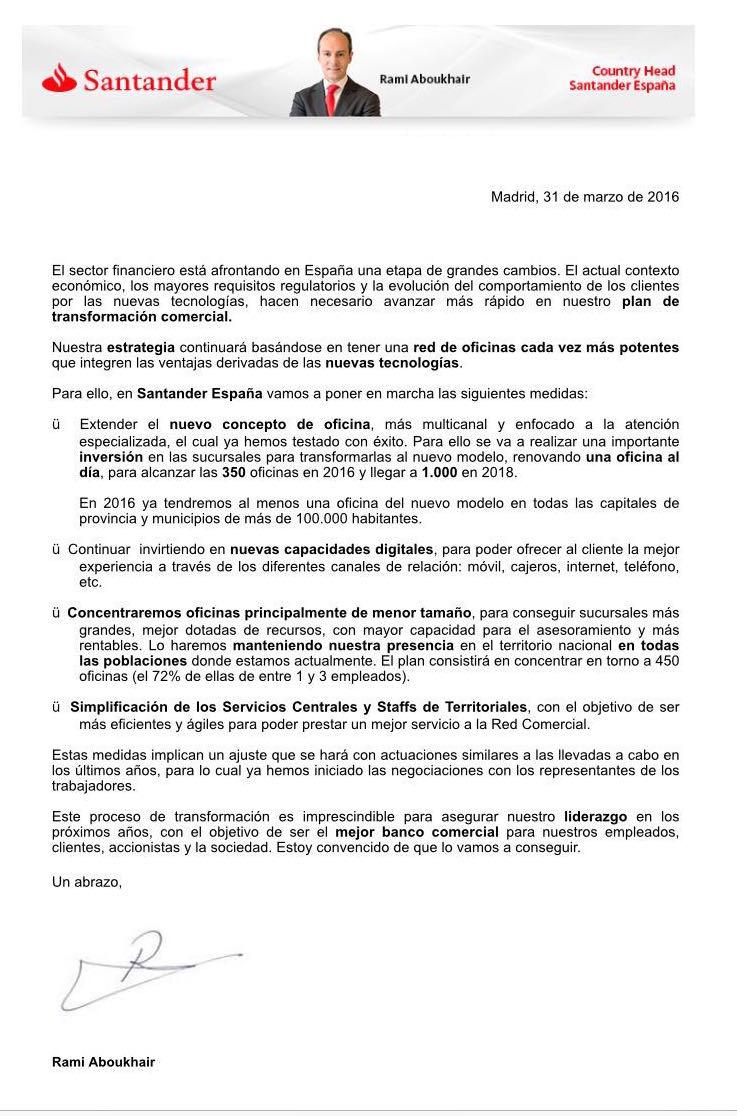 Som drets, som lluita: ¡¡URGENTE!!: Banco Santander en ...