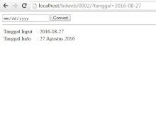 Membuat Fungsi Tanggal Bahasa Indonesia Dengan PHP