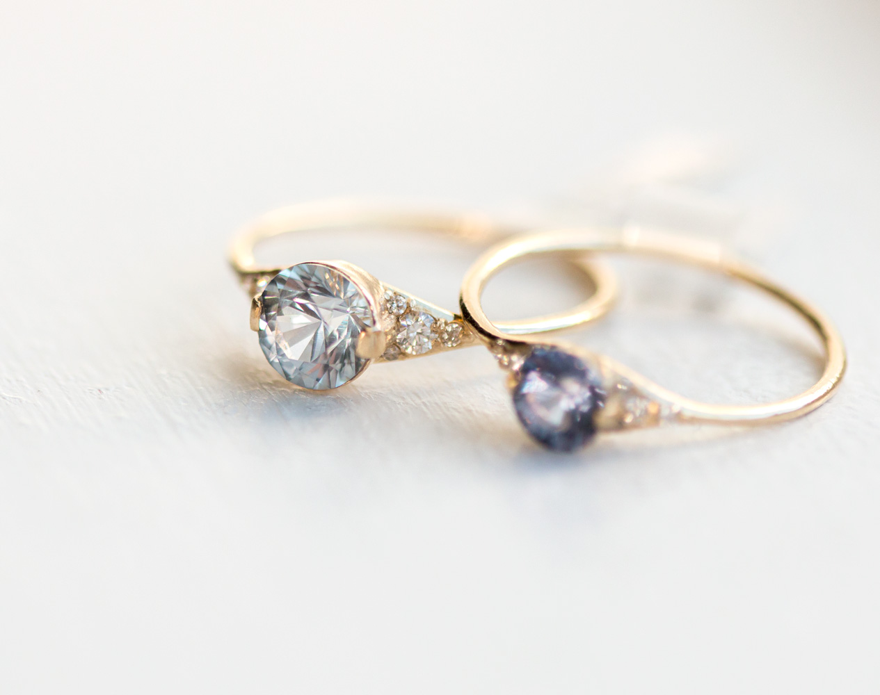 Wedding Rings With Blue 98 Spectacular A one of a