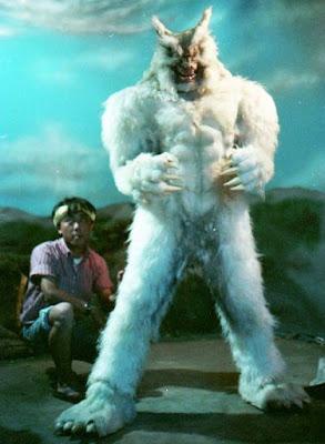 Legendary Beast Giant Wolfman vs Godzilla detrás de las cámaras