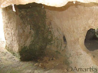 Tombe mycénienne Corinthie Peloponnèse Grèce