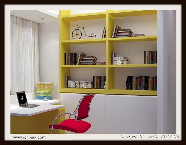 33dsMax書房設計作品