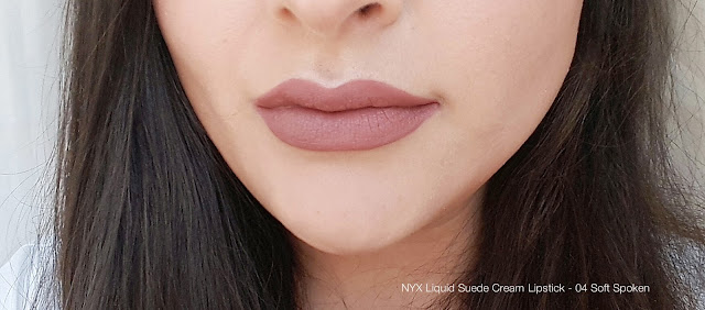NYX Liquid Suede Cream Lipstick - LSCL04 Soft Spoken