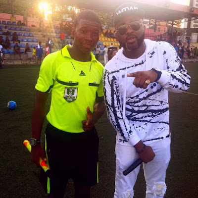 Youngest Football Referee in Nigeri, Quadri Adebimpe