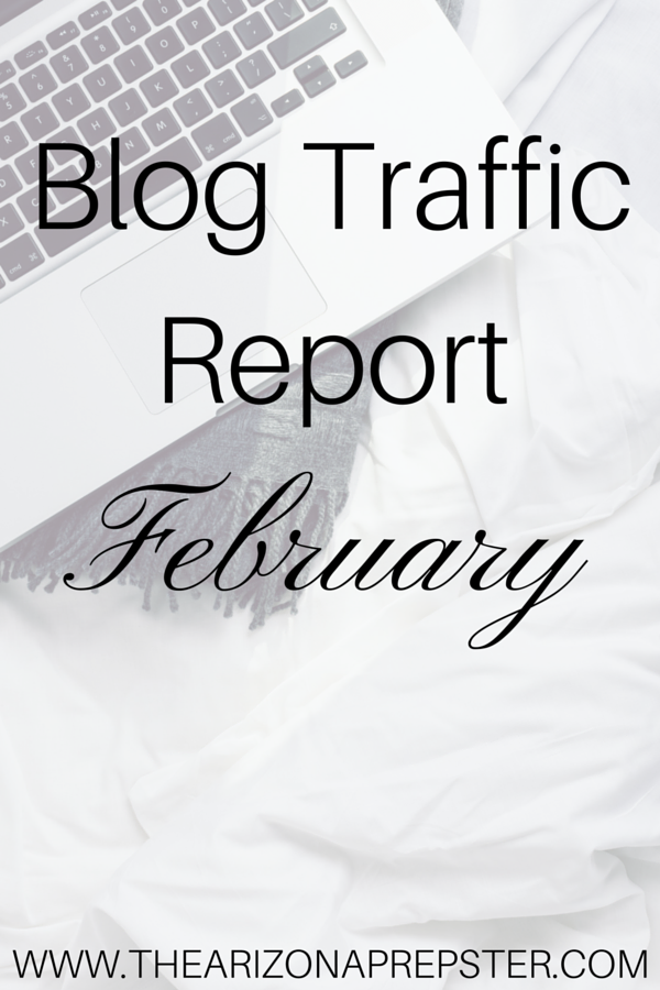 February is over and that means that it's time for my blog traffic report! I'm sharing my traffic and what I do to get it on the blog!