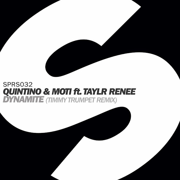 Quintino & MOTi - Dynamite (feat. Taylr Renee) [Timmy Trumpet Remix] - Single Cover