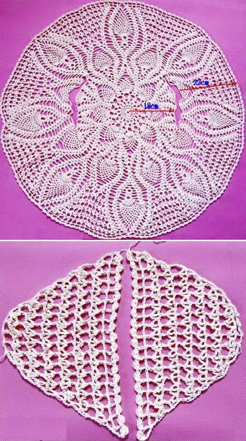 Circle Sweater: Crochet Sweaters: Crochet Circle Sweater Pattern