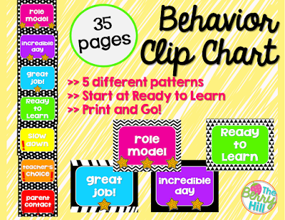 FLASH FREEBIE | Behavior Clip Chart