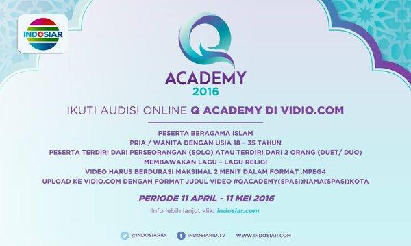 Audisi Q Academy Indosiar