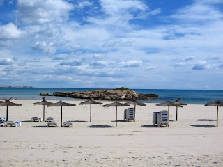 Playa de Orihuela en la Zenia (Alicante, España)