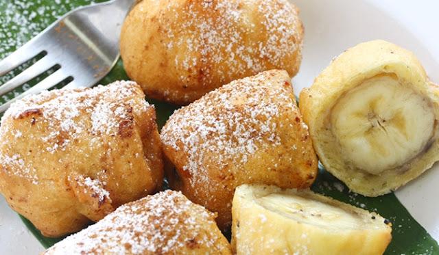 Banana Fritters-tailgating food