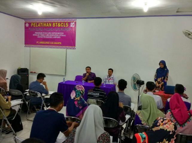STIKes Aisyah Pringsewu Adakan Pelatihan BT&CLS tahun 2016