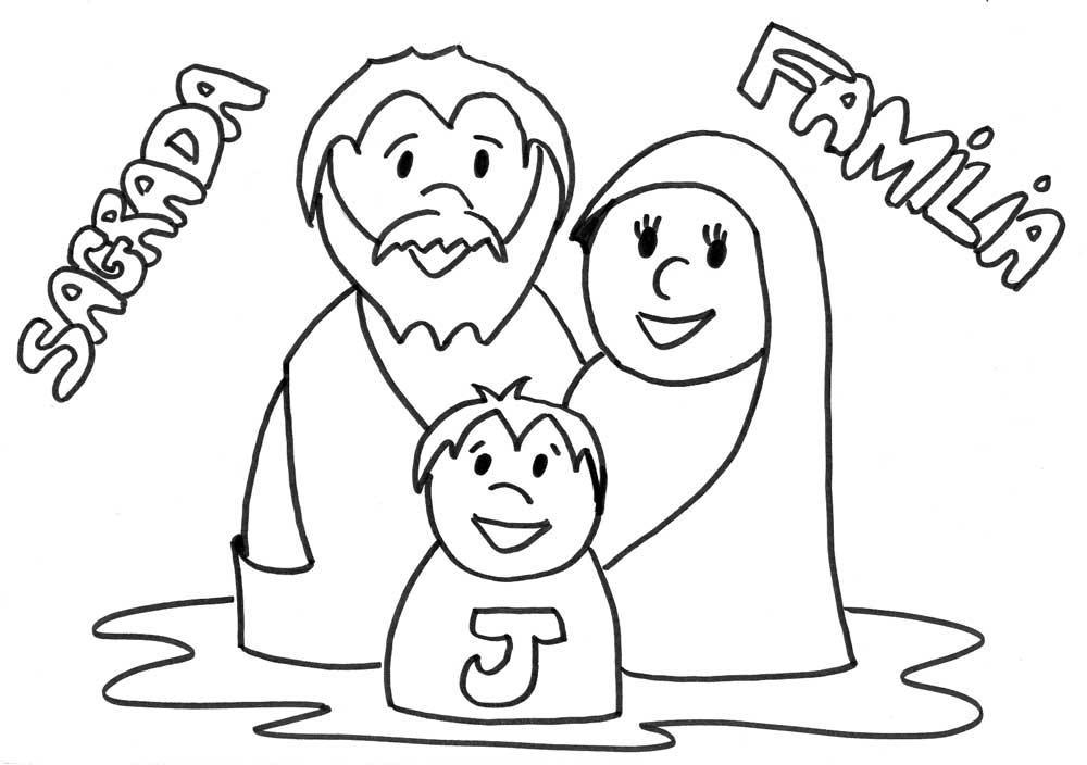 La Familia De Jesús Para Pintar Imagui