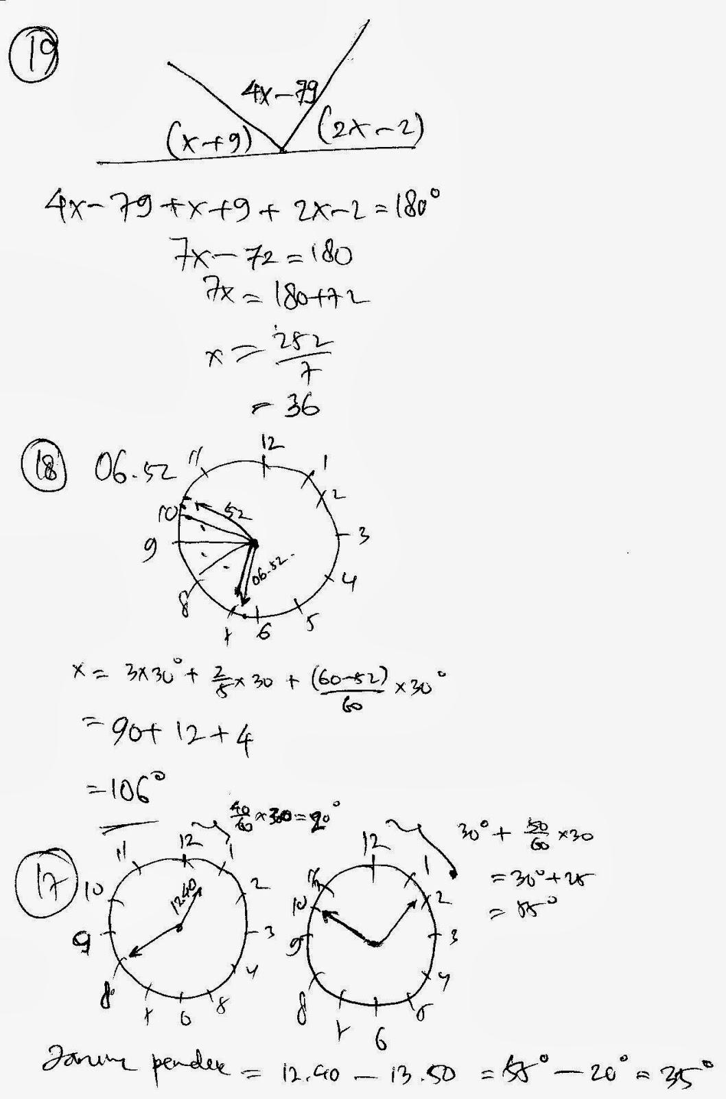 RUMAHBELAJARSPS: Remidial Math 2014 kelas 7 (tidak lengkap)