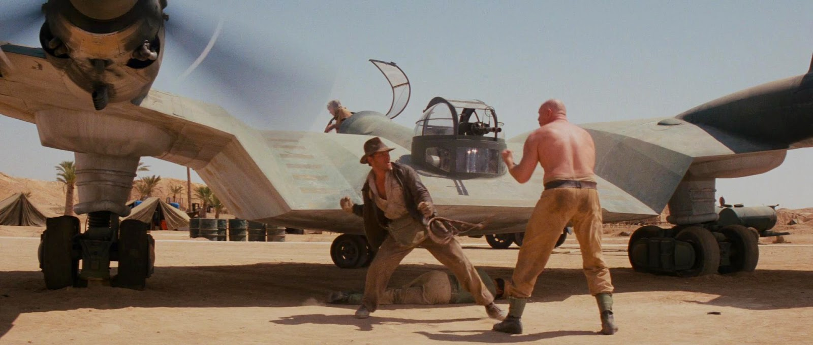 Image result for raiders of the lost ark punch