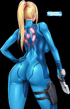Metroid - Samus Aran Render 10