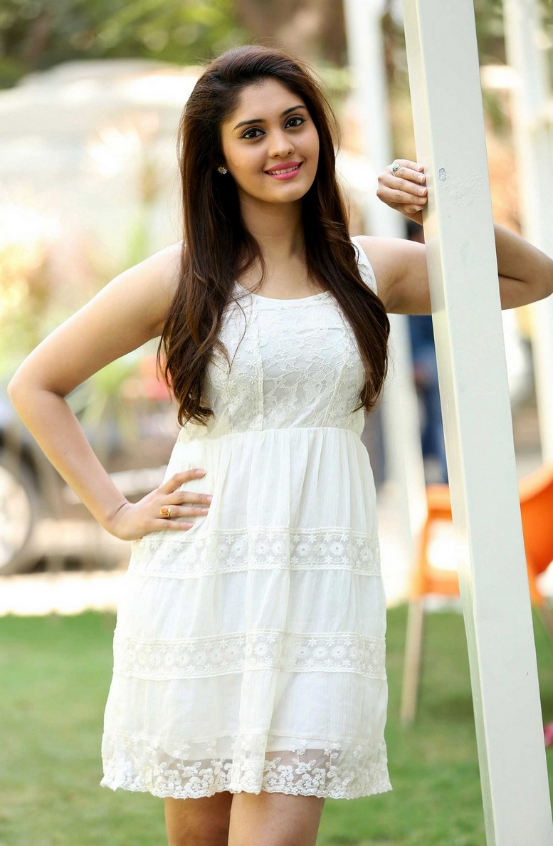 Surabhi Latest Photos In White Dress