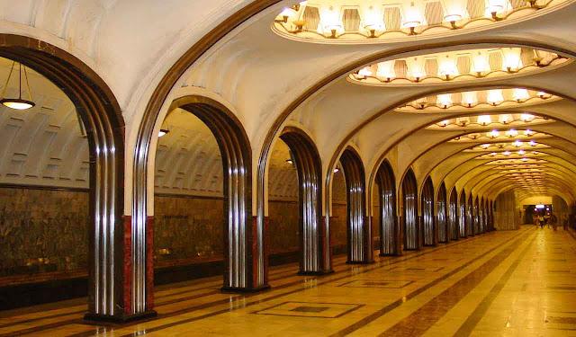 Estación de Mayakovskaya