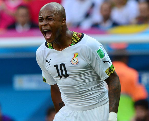 Dede Ayew equals Gyan's AFCON record