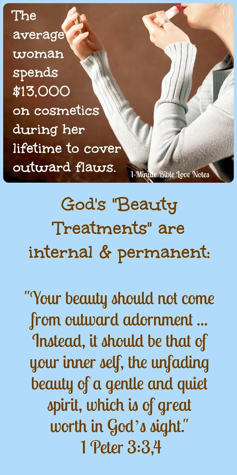 4 Inner Beauty Treatments - God Changes Hearts