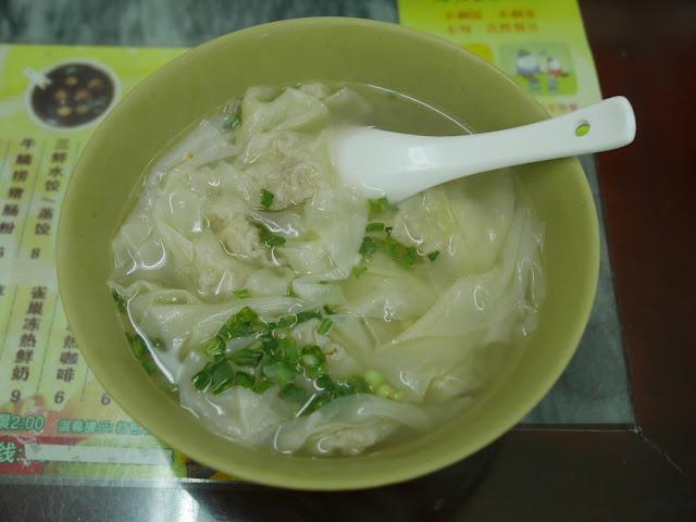 medium sized bowl of Langhe Wontons at M8 in Zhaoqing