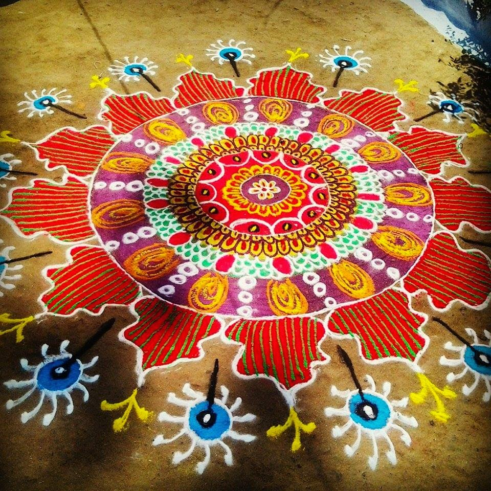 Rangoli Diwali Collection 2014 18