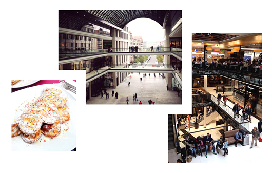 Essen in der Mall of Berlin: Waffeln bei WonderWaffel