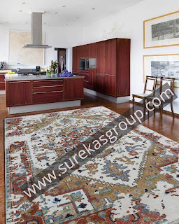 custom hand-knotted rug manufacturers in india