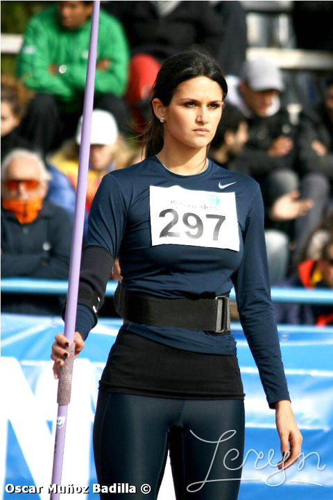 Leryn Franco is Sexy Female of Javelin Thrower from Paraguay | Sexy Female Athletes