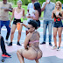 South African Dancer, Zodwa Wabantu Appears Almost Nude On Set Of New Music Video