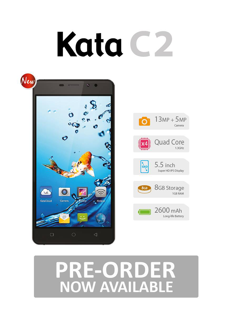 Kata C2 With Metal Build And Fingerprint Scanner Now Official, Priced At PHP 3999!