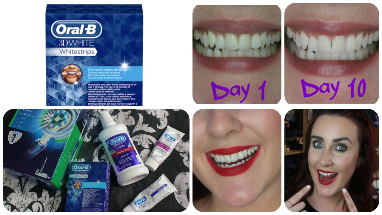 Oral B 3D White Whitestrips Review & Results
