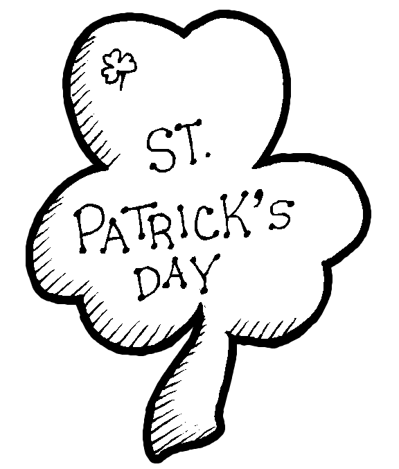 Latest 2016 Saint Patrick\'s Day Printable Coloring Pages For Kids UK ...
