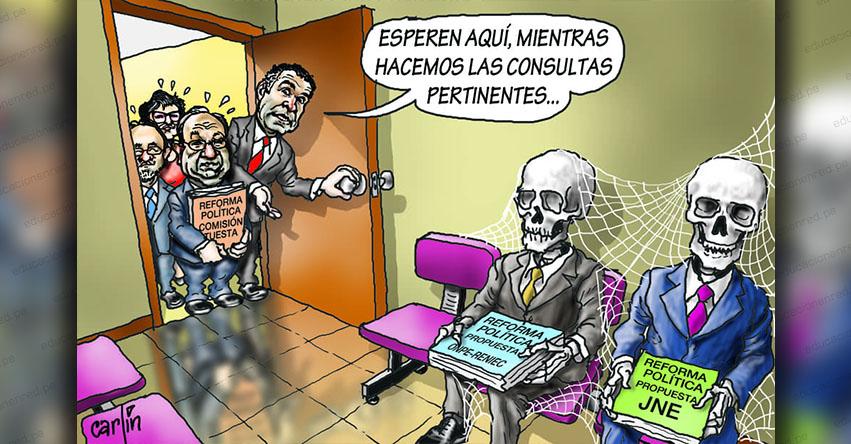 Carlincaturas Jueves 28 Marzo 2019 - La República