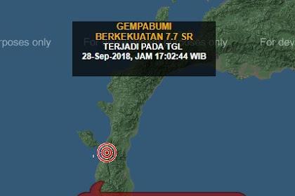 Gempa Donggala Dan Palu 2018 Yang Mengagetkan