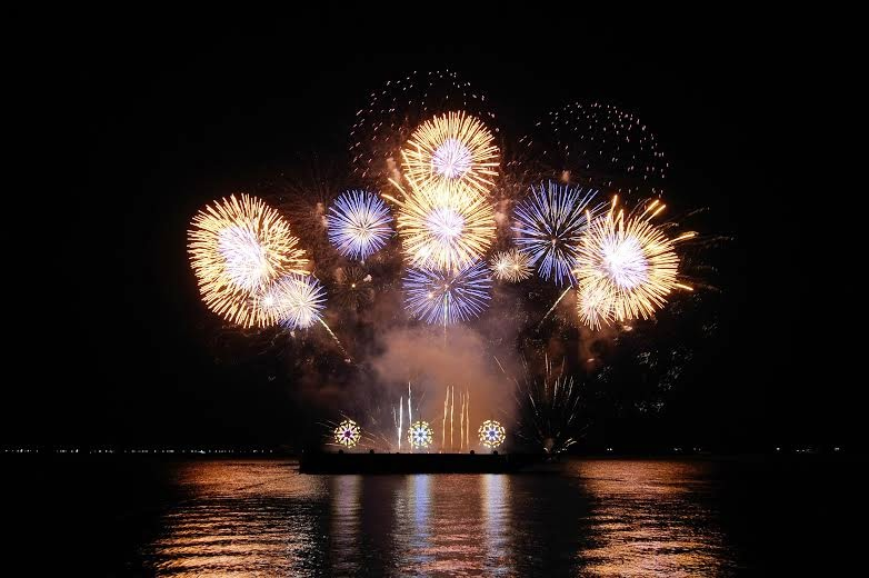 5th  International Pyromusical Competition MOA