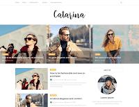 Catarina Minimal Blogger Blogspot Template