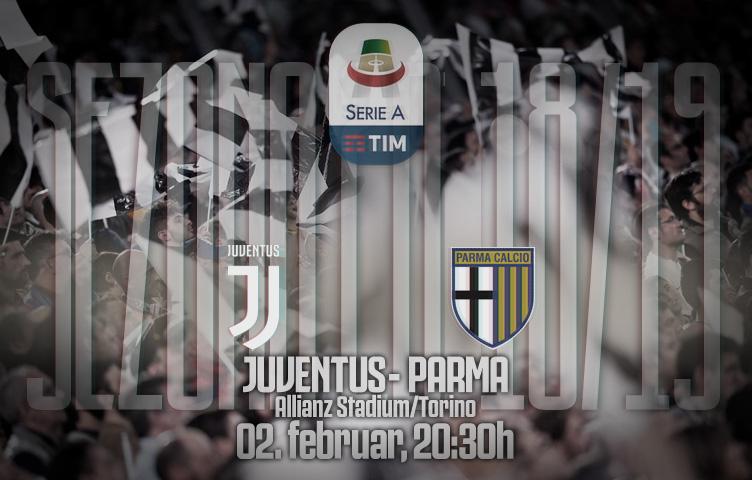Serie A 2018/19 / 22. kolo / Juventus - Parma, subota, 20:30h
