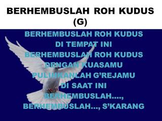 Chord Lagu Rohani : BERHEMBUSLAH ROH KUDUS - Robert & Lea Sutanto