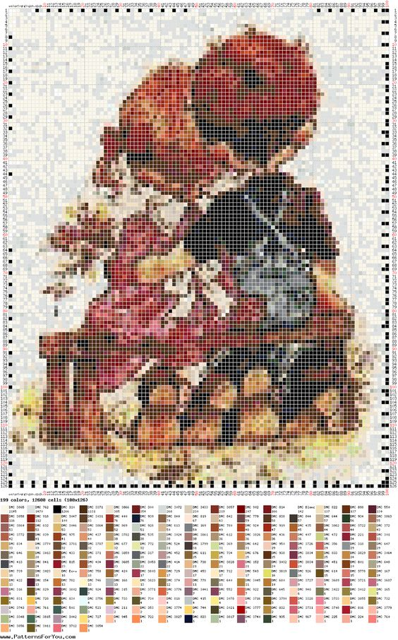 DIY Ponto Cruz - Cross Stitch Sara Kay 12