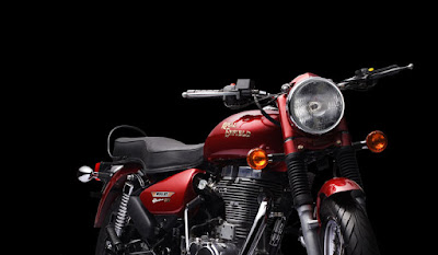 Royal Enfield Bullet 500 Red Colour