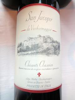 Castello Vicchiomaggio San Jacopo Chianti Classico 2014 - DOCG, Tuscany, Italy (90+ pts)