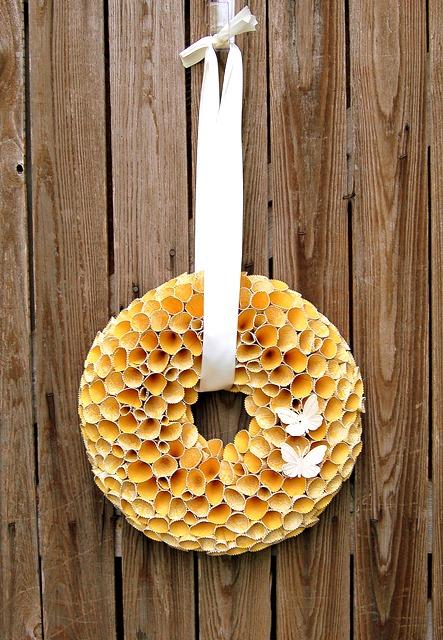 Meaningful Menagerie Cricut Cone Wreath