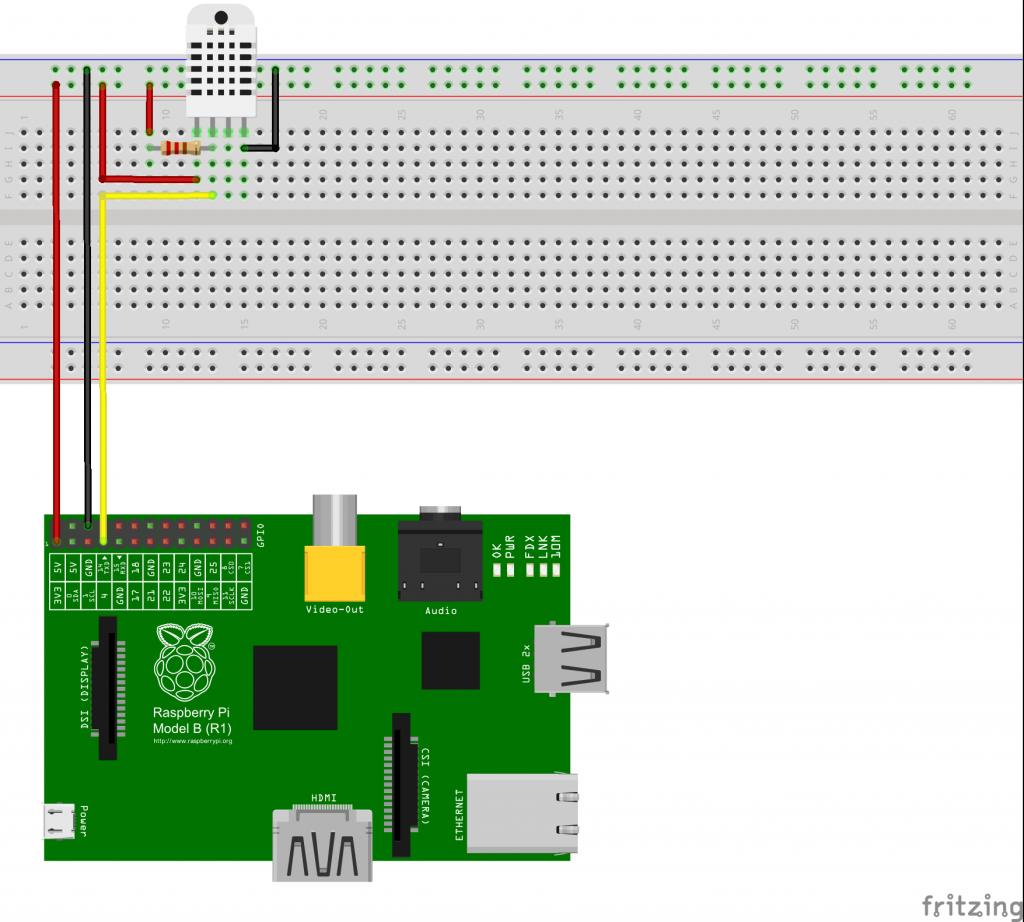 Amazing Raspberry Pi Wiringpi Dht22 Reader Basic Electronics Wiring Diagram Wiring 101 Ferenstreekradiomeanderfmnl