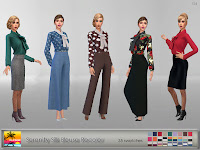 Serenity Silk Blouse Recolor