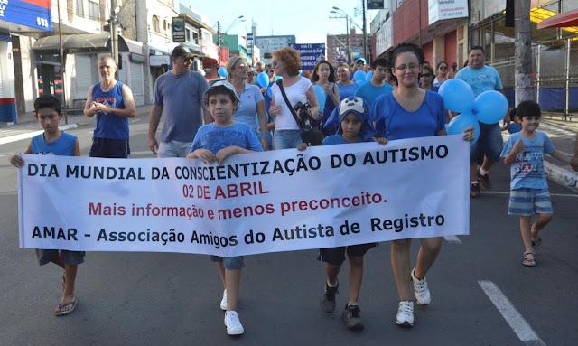 1ª Caminhada pelo Autismo em Registro-SP