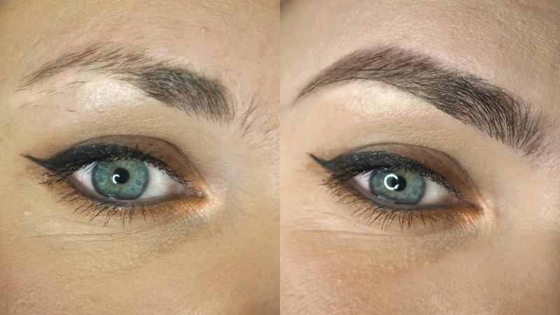 My First Experience With Hd Brows Before After Laura Louise